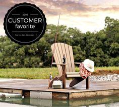 Amish Poly Fan-Back Adirondack Chair