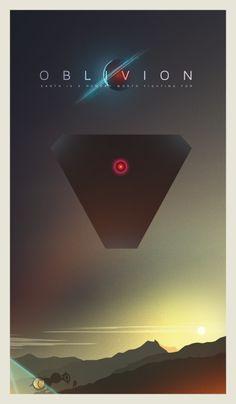 ciaranmonaghanart:  My poster tribute to Oblivion.