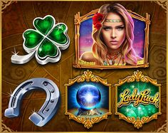 Lady Luck Slot on Behance