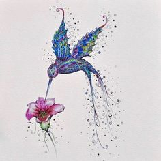 Trendy humming bird tattoo lilies ideas Image by Sabina Greiser Hummingbird Flower Tattoos, Watercolor Hummingbird, Hummingbird Art, Kunst Tattoos, Body Art Tattoos, Cool Tattoos, Tree Tattoos, Hand Tattoos, Sleeve Tattoos