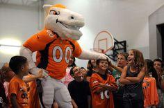 miles mascot | Miles, Denver Broncos mascot, raises excitement ... | Miles the Mascot