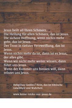 Jesus möchte alle Menschen retten.