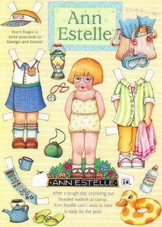 Ann Estelle-take it easy by the pool
