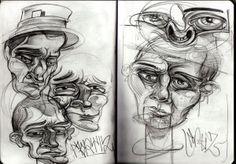 Kortiz.1 - Sketchbook 2014 on Behance