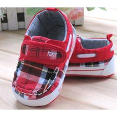 Mothercare Baby Shoes Prewalker Unisex Baby Infant Shoes Gingham Checked Loafers