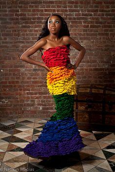 Haus of Estrada Pride Dress Spring2012