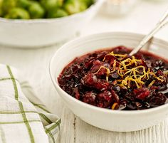 Billington's Double Cranberry Sauce Recipe - Zingy, fresh and bursting full of flavour, our cranberry sauce couldn't be easier to make.