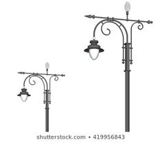 Similar Images, Stock Photos & Vectors of Lamp post collection - 102187369 Vectors, Royalty Free Stock Photos, Street, Illustration, Artist, Pictures, Image, Collection, Photos