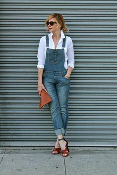 IMG_7975 Post Baby Fashion, Curvy Women Fashion, Womens Fashion, Overalls Fashion, Dungarees, Big And Beautiful, Fashion Inspiration, Fashion Dresses, Dressing
