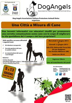 13/6 incontro a #SDonatoMilanese Una #citta' a misura di #cane @Dog Angels Onlus