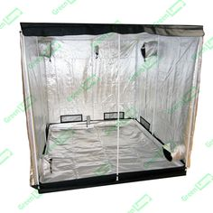 Premium Grow Tent 600D Silver Mylar Indoor Bud Box Hydroponics Dark Room