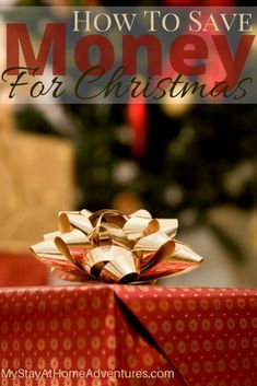 Here are some tips to save money for Christmas to help your finances for this upcoming holiday season.