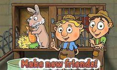 """Juegos para niños: """"La Granja"""", gratis para android    Este juego cuyo título en inglés es """"Farm Friends"""" podemos encontrarlo traducido al e..."""