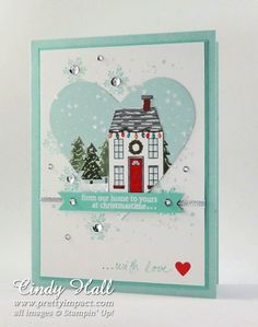 Christmas Card, FMS165-Holiday-Home