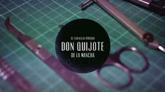 "Don Quixote Paper Project by Lobulo. Making of  that shows the process of the book cover ""El ingenioso hidalgo Don Quijote de la Mancha"" / Proyecto de Lólubo para el libro Don Quijote. Video del proceso de la portada del libro ""El ingenioso hidalgo Don Quijote de la Mancha"""