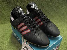 Vintage 1970s Adidas EVERTON Football Boots Sz10 Rare Oldschool | eBay