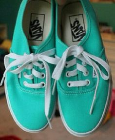 I have purple & grey, maroon, neon orange, and multi colored Vans. This is the next color I want