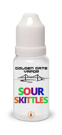 Sour Skittles #eJuice: SPOT ON sour skittles, you will think you're eating them…