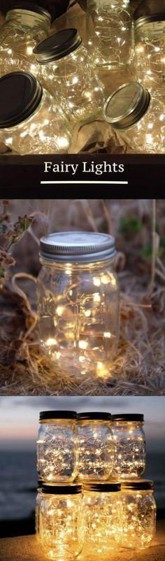 Fairy Lights | Lighting | Mason Jar | Decor | Home | Wedding | Outdoor