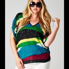 Spotted while shopping on Poshmark: Multicolored Top!!! #poshmark #fashion #shopping #style #Emerald Collection #Tops