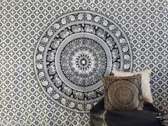 Indian-Tapestry-Wall-Hanging-Mandala-Throw-Hippie-Gypsy-Cover-Bohemian-Dorm-Deco