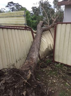 Emergency is needed after storms as well as before the storms, either to remove further damage or prevent imminent damage from occurring.