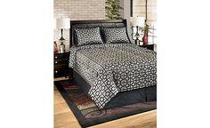 1000 images about accessoires de chambre coucher contemporain on pinterest queen comforter Set de chambre king noir