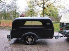 Leichenwagen Bestattungsanhänger Leichenanhänger Oldtimer TÜV `17, 1.666€