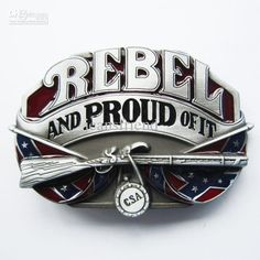 Men Belt Buckle New Vintage Proud Oval Flag Belt Buckle also Stock in US 600682510295 Country Belt Buckles, Country Belts, Country Wear, Country Attire, Country Outfits, Country Life, Cowgirl Belts, Southern Pride, Southern Style
