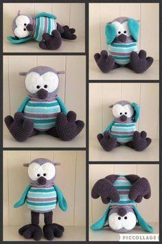 69 Beste Afbeeldingen Van Stip En Haak Crochet Dolls Crochet
