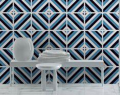 Azulejos adhesivos - azulejos portugueses - azulejo calcomanías - etiquetas engomadas del azulejo - Portugués patrimonio - azulejos decorativos - PACK DE 30 - SKU:PortHeritage por HomeArtStickers