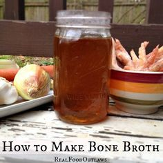 How to Make Chicken Bone Broth {in the Crock-Pot or Pressure Cooker}