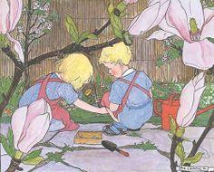 Rie Cramer - Kinderen tuinieren 2
