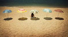 umbrella shadows - so pretty