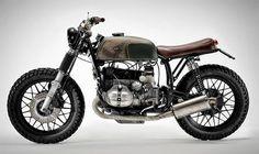 BMW Café Racer - Page 24 Bmw Cafe Racer, Cafe Racer Motorcycle, R Cafe, Brat Bike, Toy Garage, R65, Motorbike Design, Bmw Boxer, Cafe Racing