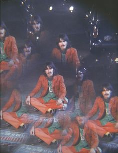 George Harrison goes Psychedelic! :)