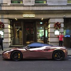 Rose Gold Ferrari                                                                                                                                                      More