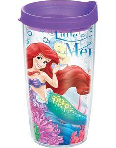 Disney - Little Mermaid Wrap with Lid - 16oz tumbler
