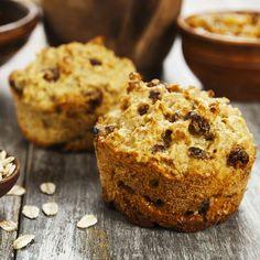 Recette de muffins au son, aux carottes et aux raisins secs Raisin Sec, Muffins, Brunch, Muffin Bread, Orange Crush, Muffin Recipes, Banana Bread, Biscuits, Dessert Recipes