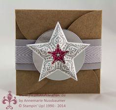 Stampin' Up! by First Hand Emotion: Dreimal Umschläge für Geschenkkarten von Stampin' Up!