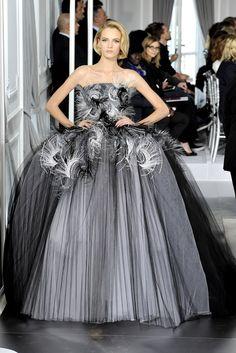 Christian Dior Spring 2012 Couture Fashion Show - Daria Strokous (Women)