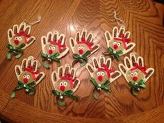 Christmas Crafts ornaments Kids Salt Dough - Elegant Christmas Crafts ornaments Kids Salt Dough, Reindeer Salt Dough ornaments Sydnee S Crafts Diy Gifts For Christmas, Noel Christmas, Diy Christmas Ornaments, Homemade Christmas, Christmas Projects, Holiday Crafts, Christmas Photos, Reindeer Ornaments, Elegant Christmas