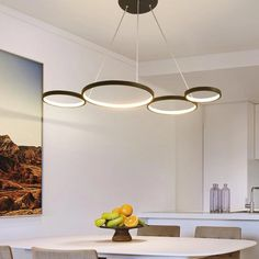 White/Black Modern LED Suspension Lights – Lightmopolis Interior Lighting, Home Lighting, Living Room Lighting, Living Room Decor, Pendant Lamp, Pendant Lighting, Dining Room Bar, Art Deco Lamps, Gadgets