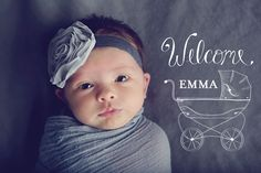 Baby & Newborn Photo Overlays for Professional Portrait Photographers | Design Aglow