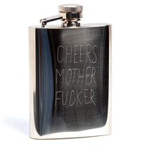 Usually flasks have some kind of pretentious fancy engraved lettering bullshit on them that are meant to look classy. But sometimes you don't want to fill your flask with the top shelf. Sometimes y...