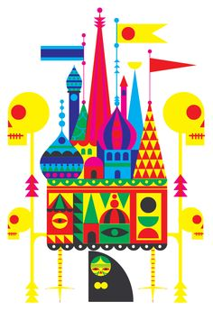 Patrick Hruby Illustration. His work is so bright and cheery. I love it.