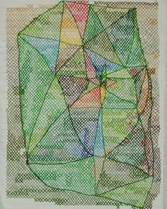 thread and paper Contemporary embroidery Contemporary Embroidery, Beaded Embroidery, Beading, Textiles, Quilts, Stitch, Paper, Green, Instagram