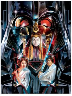 Star Wars Adversaries by Orlando Arocena