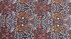 """""""Blackthorn"""" wallpaper designed by William Morris Fabric"""
