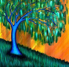 Weeping Willow by Brenda Higginson